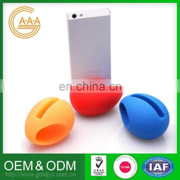 Factory Direct Sales Lowest Price Design Your Own Phone Stand Speaker Best Quality Egg Shape Holder Speaker