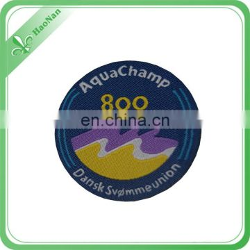 EXW price sales embroidery school badge for promotion