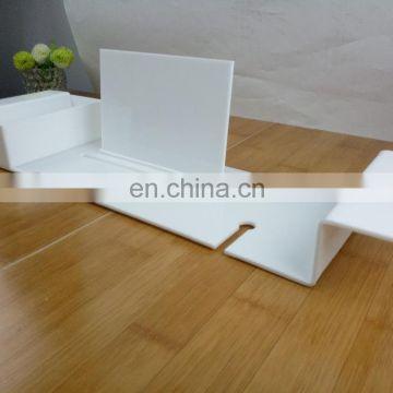 Acrylic shower caddy tray,bamboo bath caddy,baby caddy organizer of ...