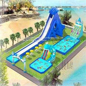 Newest Factory Price Inflatable Water Park For Water Play Equipments Games