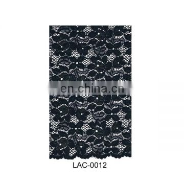 Popular design Indian knitting lace fabric