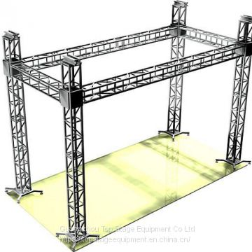Top stage good quality aluminum alloy portable truss system truss system for sale