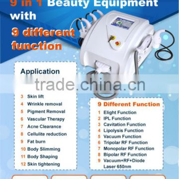 Multi-function elight threaded hair removal with free Romote Rent System