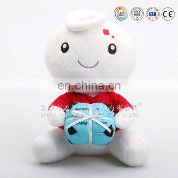 """I love you""plush toys with candy gift for valentine's day"
