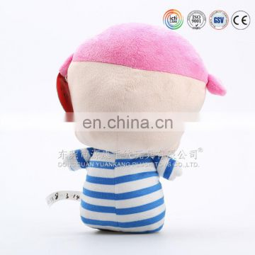 Sewing products gift stationery soft plush animal pen