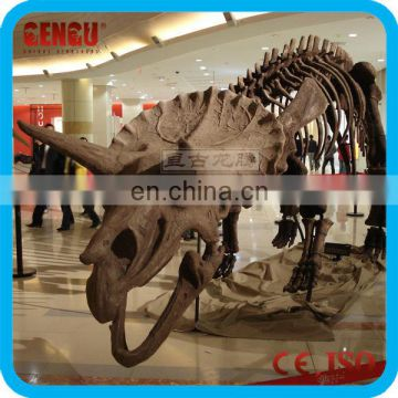Indoor well-shaped artificial dinosaur fossil for sale