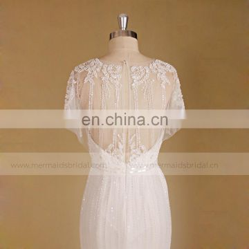 Royal hot selling wedding dress mermaid