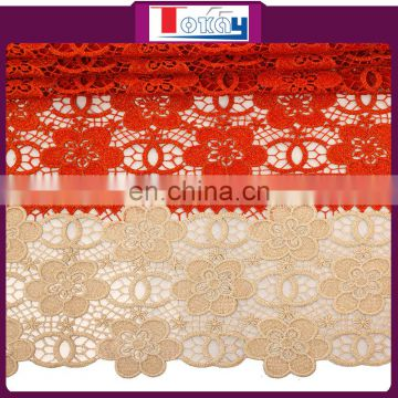 New arrival guipure lace fabric Sample Lace For Clothing