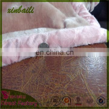 Wholesale Custom 100% Polyester Baby Blanket