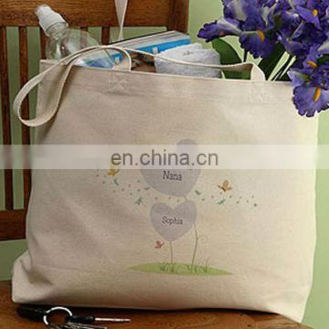 cute carry bag for shopping and picnic with canvas material