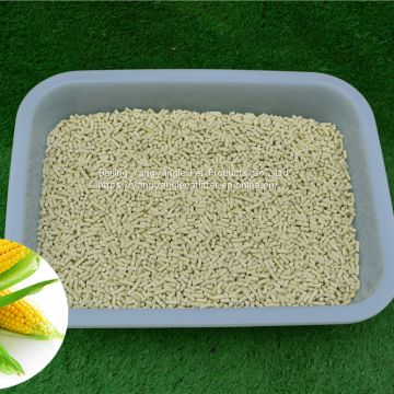 Corn cat litter for cat toilet