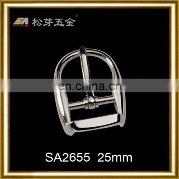 Chinese supplier pin buckle with clip, adjustable clip belt buckle