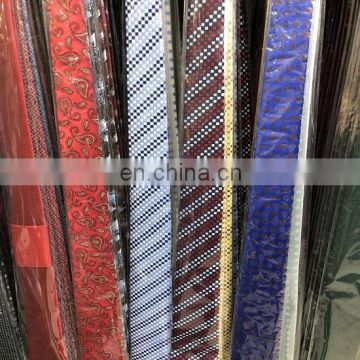 2018 Classic New Design Neck Ties 8cm Plaid&Striped Ties for Men Formal Wear Business