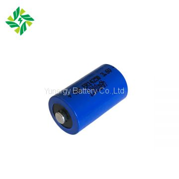 ER14250 3.6V 1200mAh Primary Battery with good performance Li-SOCL2 Battery