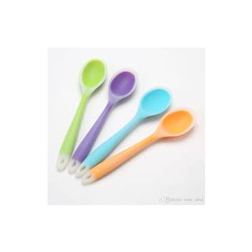 New Babies Cheap Silicone Baby Spoon Colorful Silicone Baby Soup Spoon BPA free whatsapp: +8615992856971