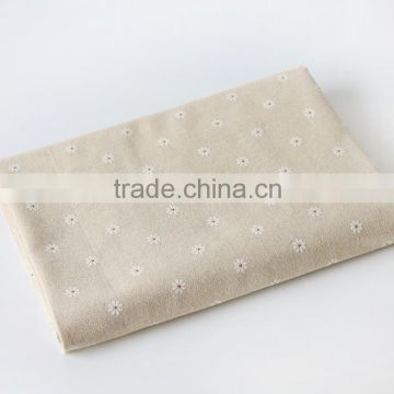 2015 Wholesale fair trade price european 100% cotton sateen white fabric for home textile/hotel/hospital