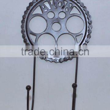 metal antique fancy hangers cycle ring deisgn