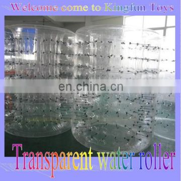 2014 Hot Sale TPU clear inflatbale water walking roller