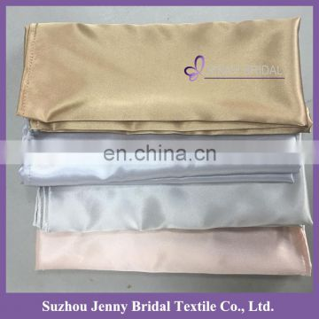 NP024 faux silk fabric pre folded linen napkins wedding for restaurant
