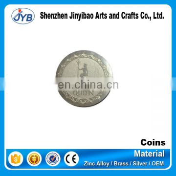Fine finishing custom engraved china replica ag 999 silver coin