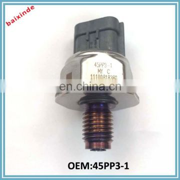 Latest Products In The World Fuel Rail Pressure Sensor for MITSUBISHI L200 CITROEN VAUXHALL OPEL OEM 45PP3-1
