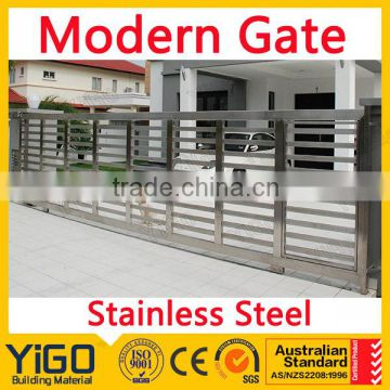 Stainless Steel Main Gate Design Of Main Iron Gate Sliding Gate