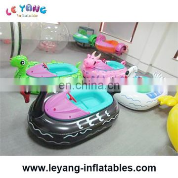 Inflatable kids electric boat for swimming pool amusement park equipment