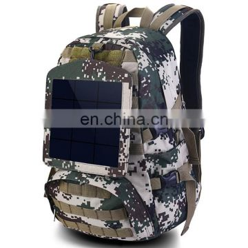 Outdoor voltaic solar backpack