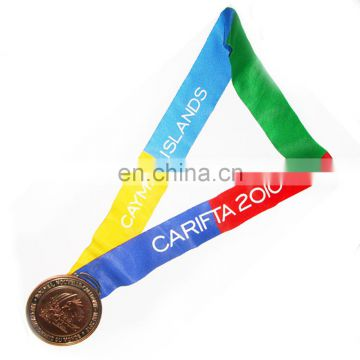 China Supplier Polyester Logo Print Medal Glow in the Dark Ribbon