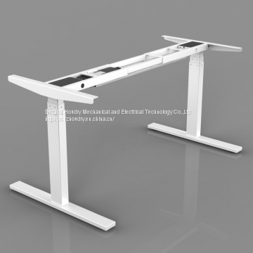 Quietest and toughest electric height adjustable desk BIFMA approved