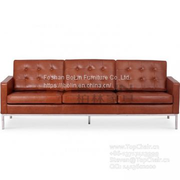Reproduction 3 Seat Sofa by Florence Knoll