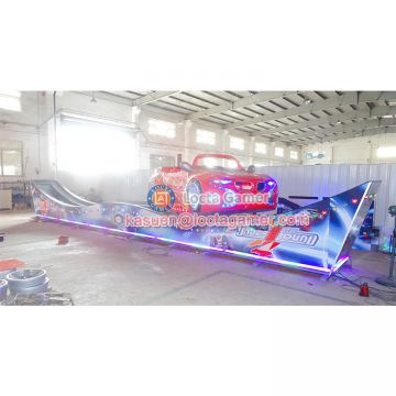 Zhongshan amusement flying car Funfair Rides two-orbits Mini Car fly car kiddie rides