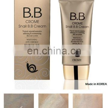 Crome Snail BB Cream 50ml, Made in KOREA