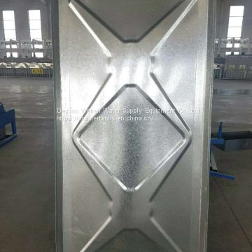 factory manufacture price hot dip galvanized water storage