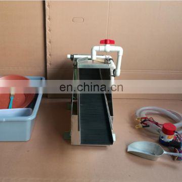 useful gold recovery portable sluice box for mining