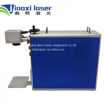 Jiaoxi 20W Protable Fiber Laser Marking Machine for Titanium Aluminum Copper Steel Metal with low Price