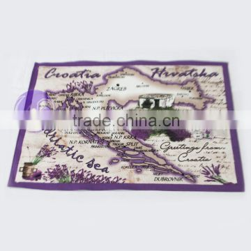 china supplier textiles cotton custom tea towel printing