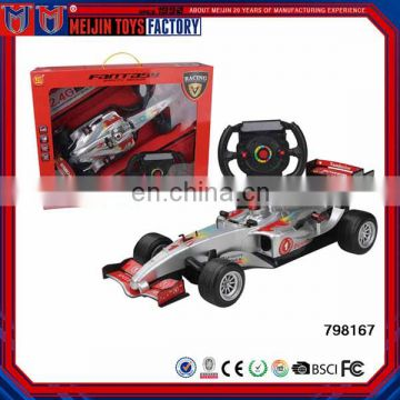 2.4G 1:10 steering wheel rc car model remote control car model