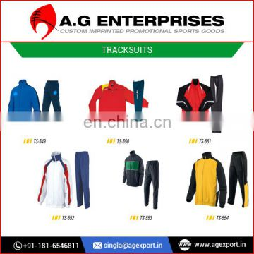 Tracksuit Sports Wear Manufacturer