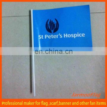 mini hand make paper flag