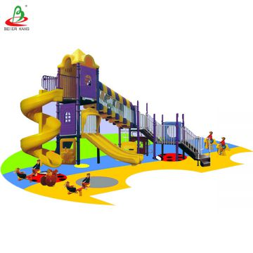 High Quality Colorful Children Commercial Small outdoor Playground Equipment student recreation facility