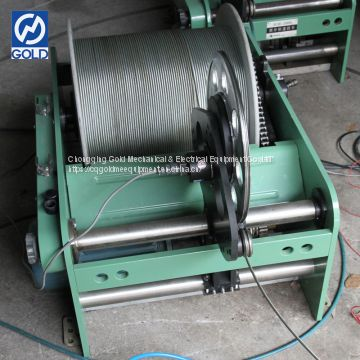 Well Testing Equipment Borehole Logging Pulling Winch Supplier