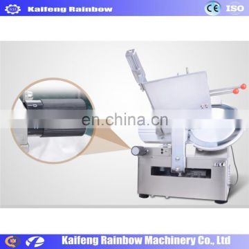 Professional Good Feedback mutton roller slicing machine / automatic frozen meat slicer for mutton beef