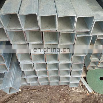 Black 40x40 astm a500 grade a36 Q235B square rectangle steel pipe