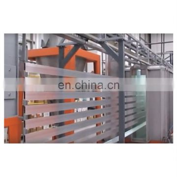 Automatic aluminum window and door powder coating production line machine