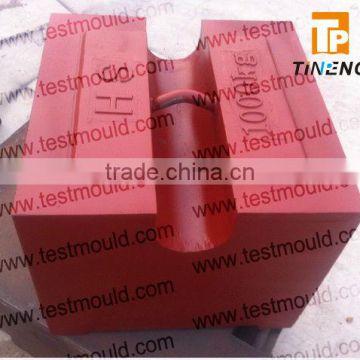 Oiml Standard M1 1000kg Cast Iron Test Weihts Test Mass Standard Weights Flat Weights Etalon Weights Calibration Weights