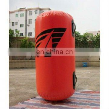 inflatable air buoy cylindric buoy with handles