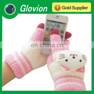 Best seller 3 fingers gloves finger touch glove soft touch gloves