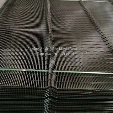 Anti Climb 358 Fence Low Carbon Steel Wire Powder Coated