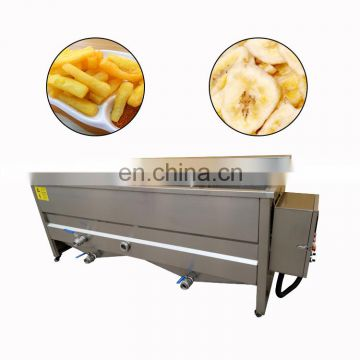 Electrical deep pork skin chips dehydration vacuum frying machine